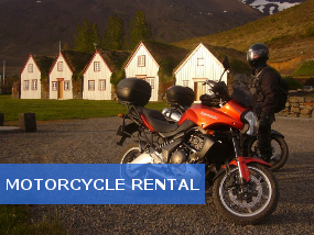 Motorcycle touring and motorcycle rental in iceland Motor cycle rentals