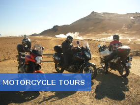 Touring Iceland in three motorcycles