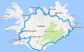 Total Iceland  <span><small>-</small> 8 Days Tour </span>